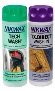 Nikwax Tech Wash and TX Direct Wash-In