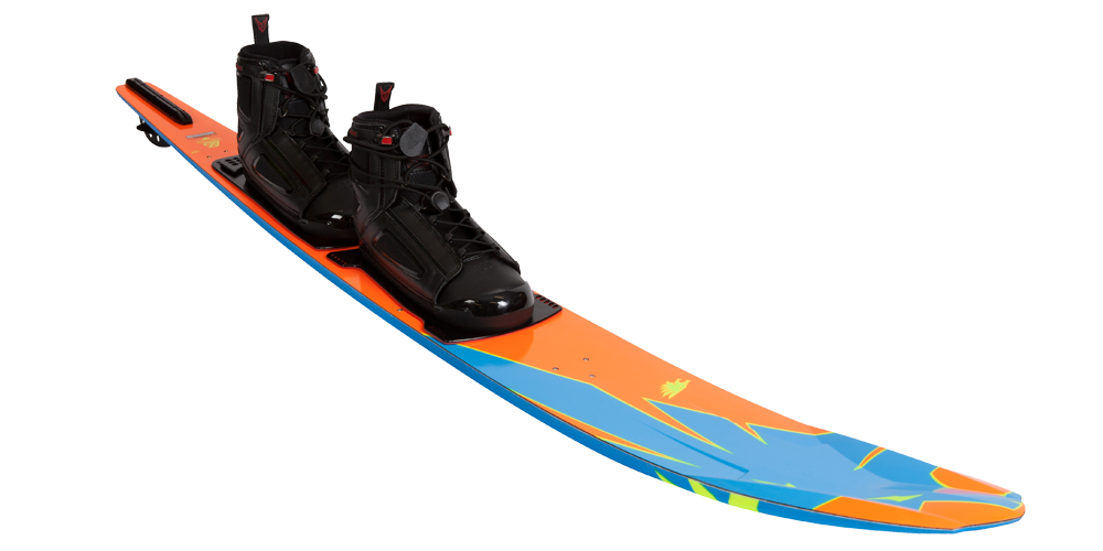ho water ski with rear boot
