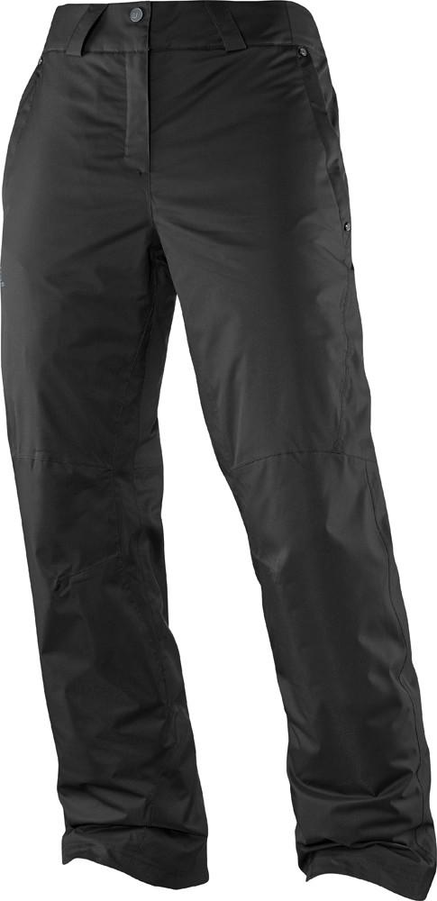 salomon response snow pants in black