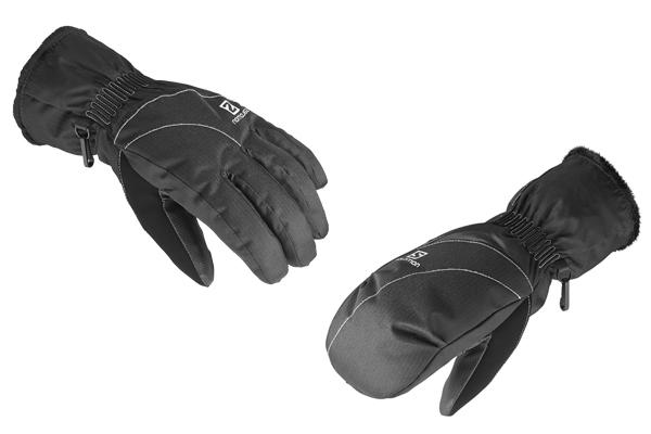 salomon force gtx snow glove mittens