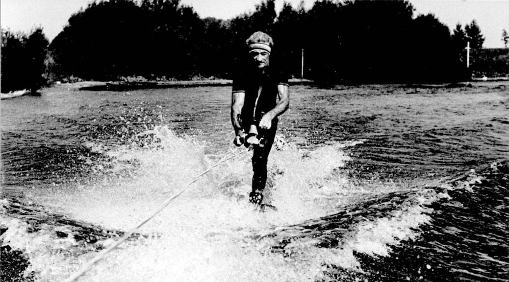 ernie ward world champion wate skier