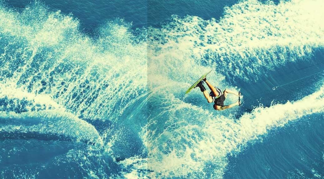 trick water skiing
