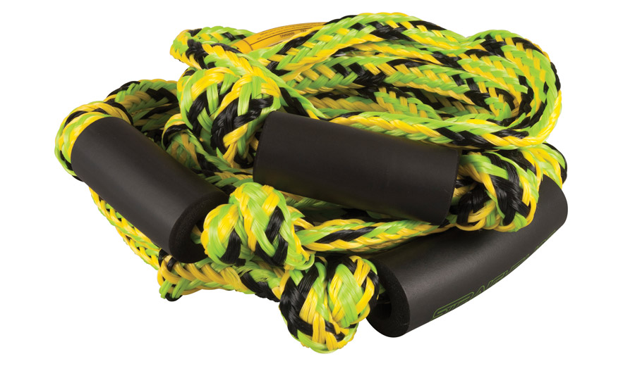 Straight Line knotted surf rope.