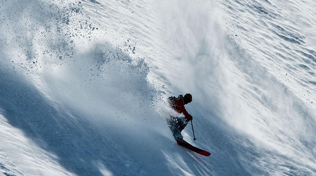 dakine sponsored skier