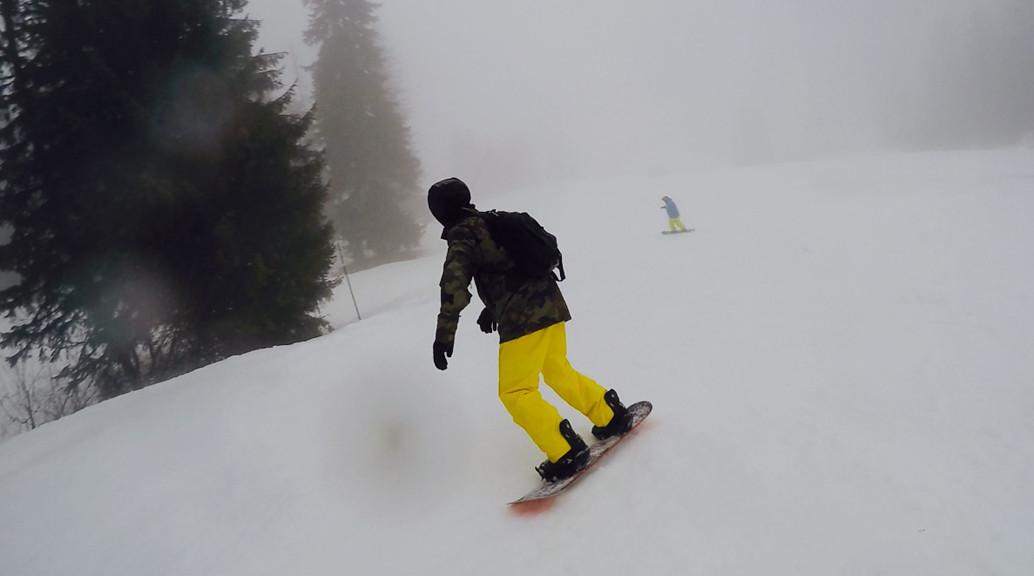 snowboarder dc focus snowboard