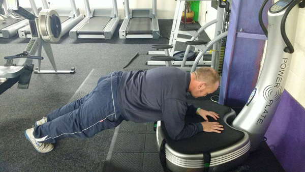 power plate plank exercise