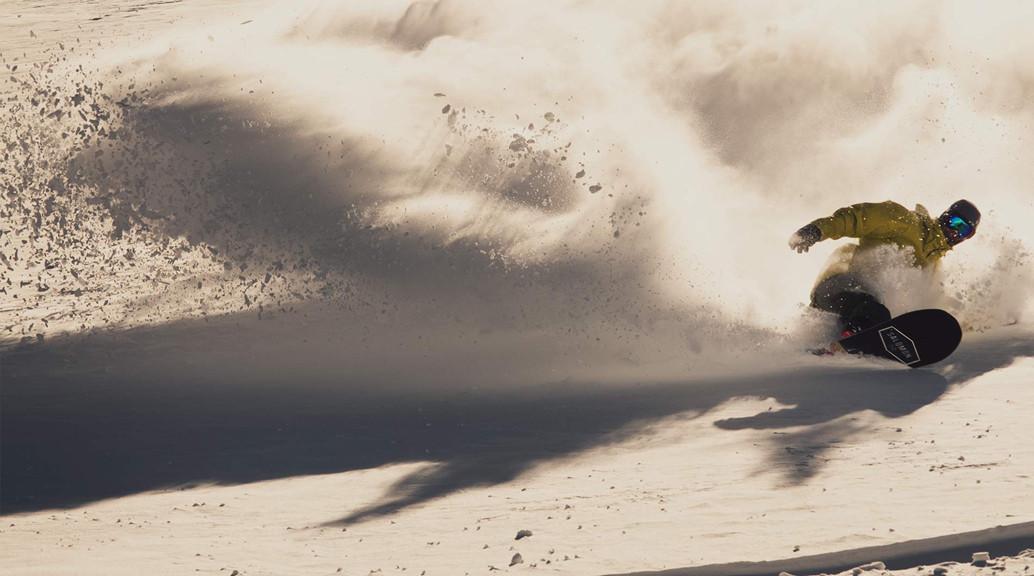 salomon snowboarder