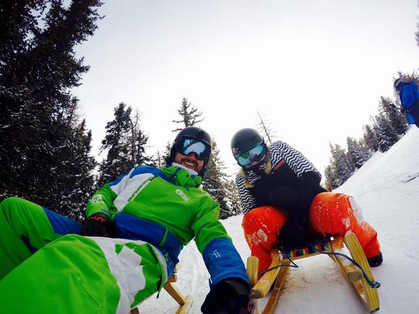fun sledging