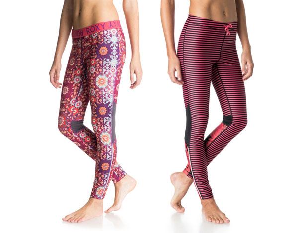 roxy leggings two styles