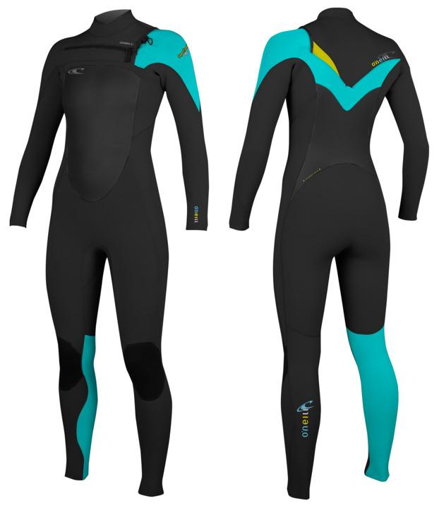 oneill womens superfreak 3mm 2mm wetsuit