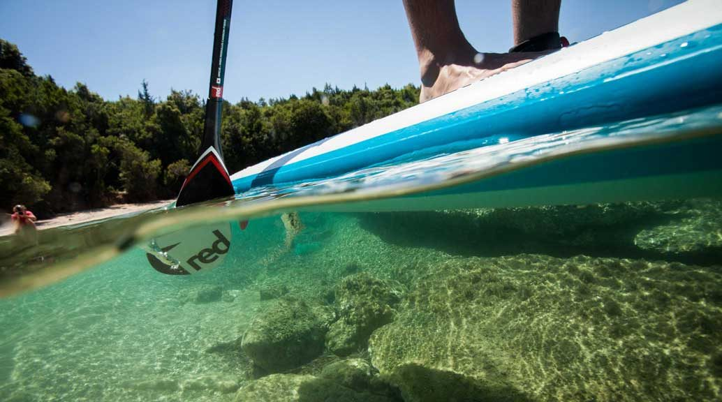 sup in water