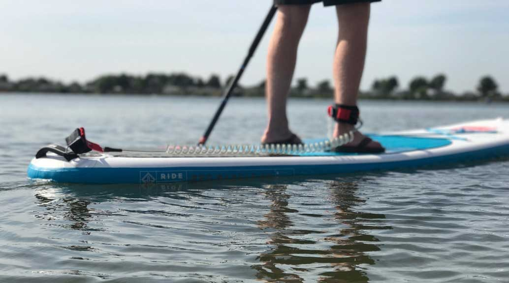 red paddle co ride stand-up paddle board