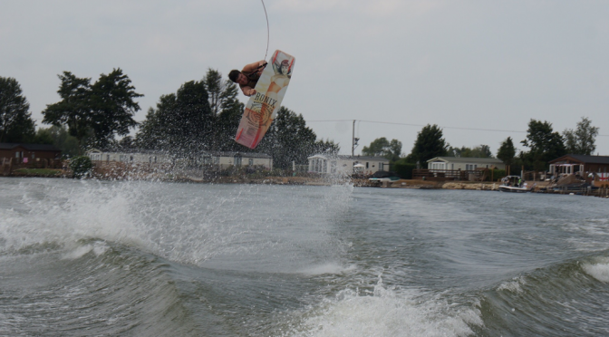 mitch riding ronix happy hour wakeboard