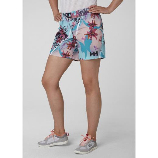 outlet winkel beste prijs anders Helly Hansen Womens HP Naito Print 6 Board Shorts