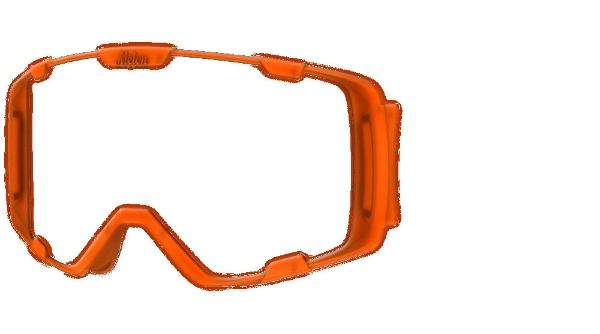 0ca47aeee8c1 Melon Parker Bubblegum Orange Goggle Frame - £24.99 - in stock at ...