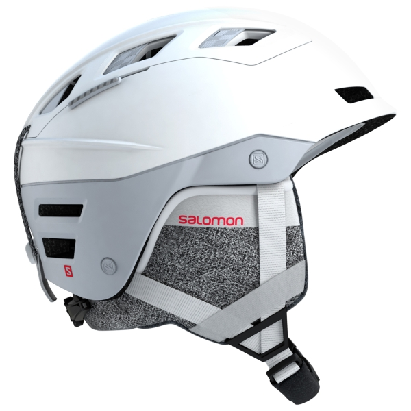 Salomon Womens QST Charge White Snow Helmet 2019: 56-59cm