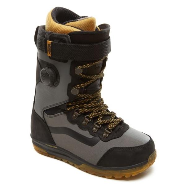 Vans Infuse Black Grey Snowboard Boots