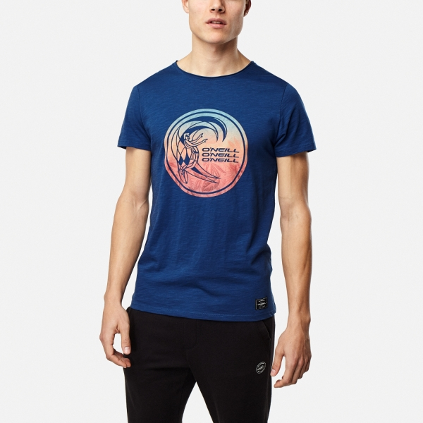 6ddb093f06c9 ONeill Circle Surfer Atlantic Blue T-Shirt: M - £16.09 - in stock at ...