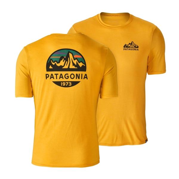 b3e430e9c7c4 Patagonia Capilene Daily Graphic Yellow T-Shirt - £25.89 - in stock at  Tallington Lakes Pro Shop