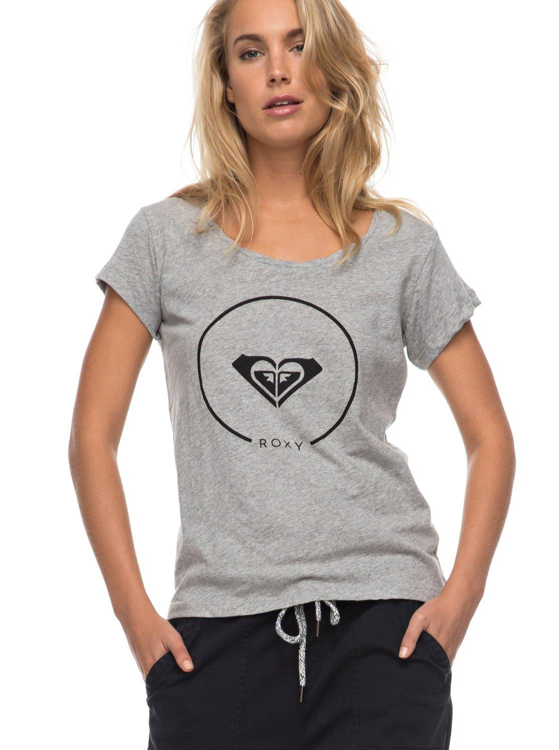 06a55b8bed5298 Roxy Womens Bobby Twist Heritage Heather T-Shirt: M - £12.59 - in stock at  Tallington Lakes Pro Shop