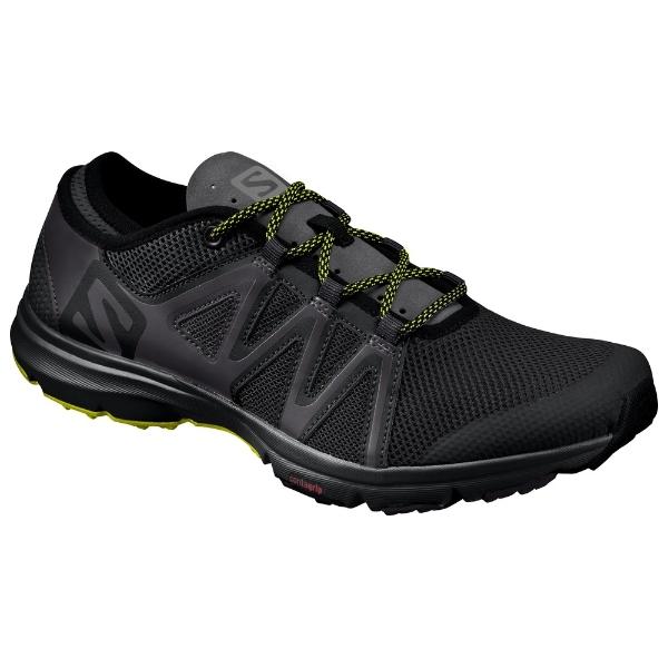 Salomon Cross Amphibian Swift Black Phantom Sulphur Spring Water Shoes: UK 9