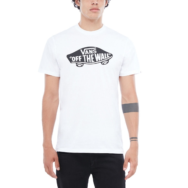 d4a858f5e7 Vans Off The Wall White Black T-Shirt - £17.49 - in stock at Tallington  Lakes Pro Shop