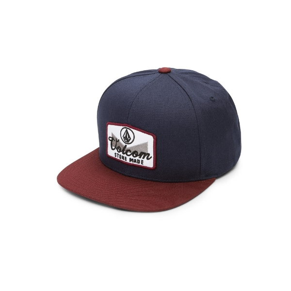 new product 47eac 5f35a Volcom. Volcom Cresticle Crimson Navy Trucker Hat