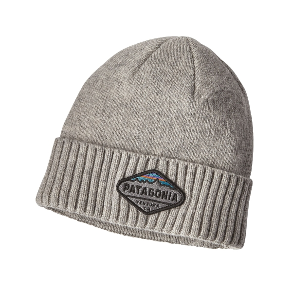 28dfca89af9 Patagonia Brodeo Fitz Roy Grey Beanie - £17.99 - in stock at Tallington  Lakes Pro Shop
