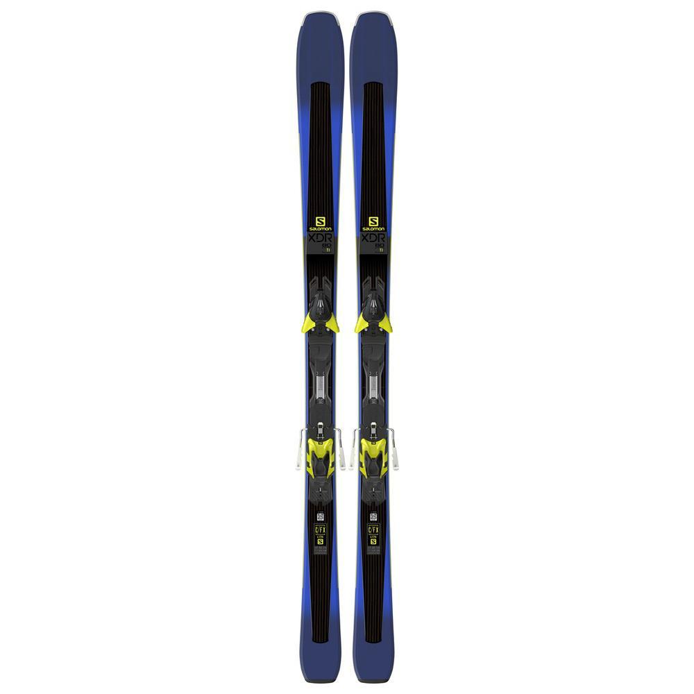 Salomon XDR 80 Ti Skis XT12 Bindings 2018