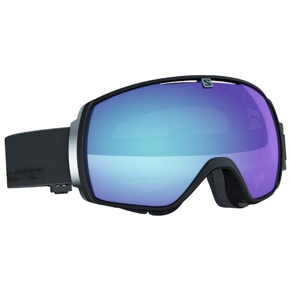 7e29ce1879 Blue Goggles Salomon 99 £159 Black At One Snow Xt In Stock Photo q4R35jLA