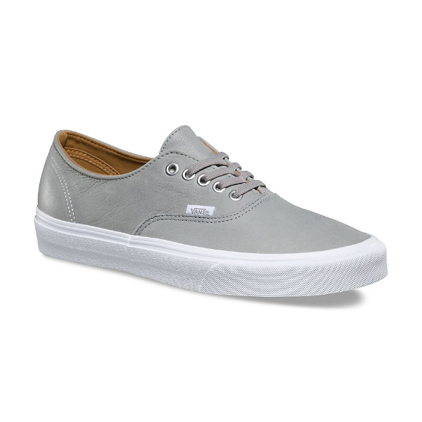 0466651e24 Vans Authentic Decon Leather Grey Shoes - £28.49 - in stock at ...