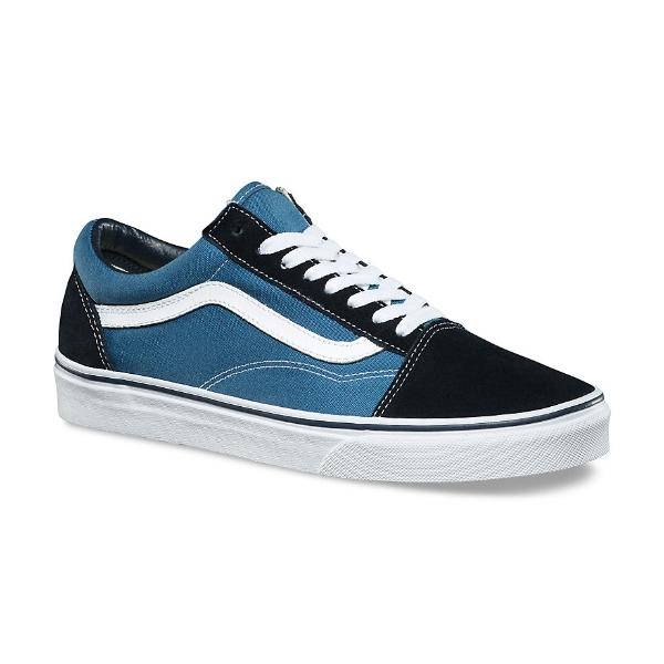 Vans Old Skool Navy Blue Shoes: UK 10 Half