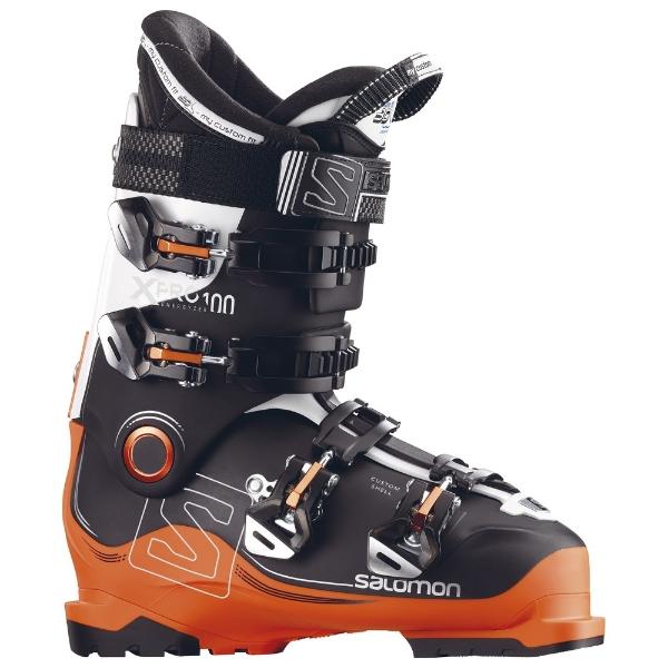 9eabe26d5 Salomon X Pro 100 Black Orange Ski Boots 2017